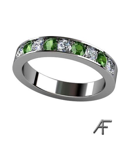 faden allians med forrestgreen diamanter 3,5 mm