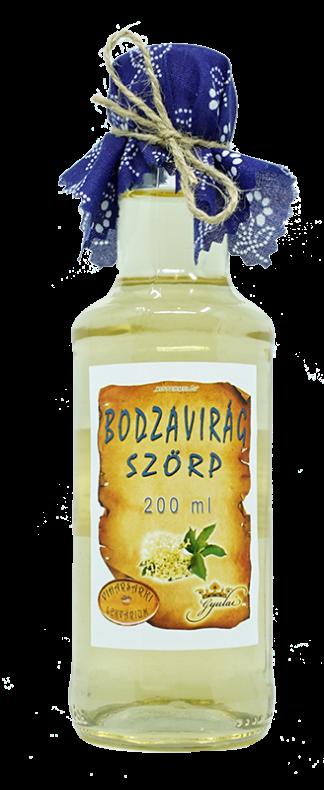 Bodzavirág szörp (200 ml)
