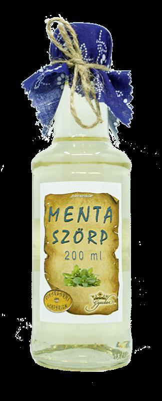 Menta szörp (200 ml)