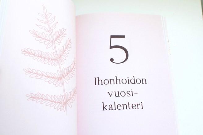 Kirja: Katja Kokko Kuulaan Kaunis - ihonhoitokalenteri