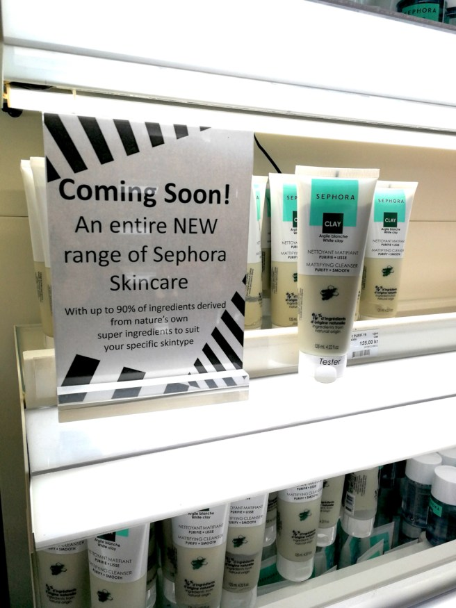 Sephoran omat ihonhoitotuotteet