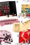 Kosmetiikkajoulukalenterit 2020 –Top 5