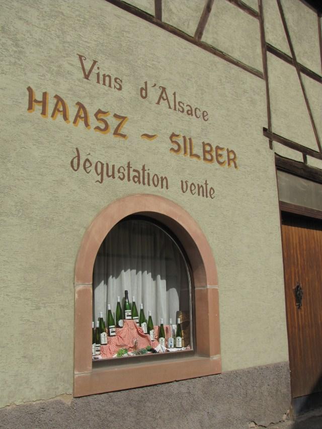 alsace viinialue maistelutila