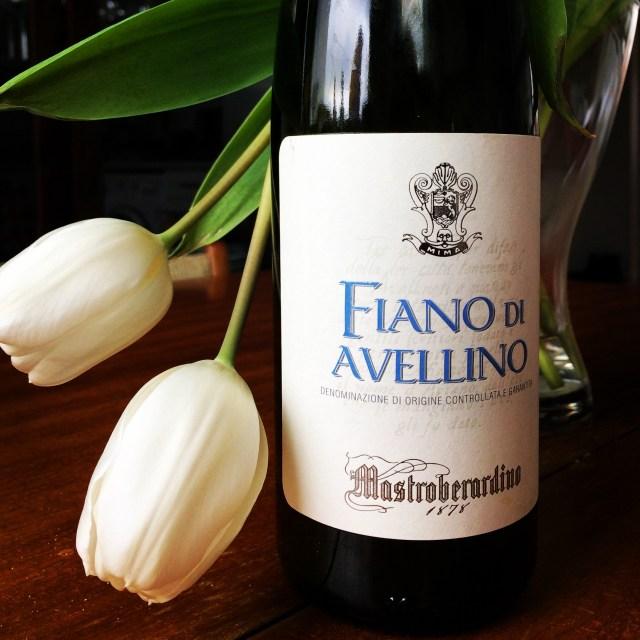 Italian valkoviinit Fiano di Avellino