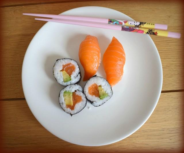 sushi viini