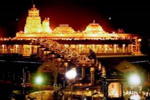 #Incredible #India : #lakshmi #temple made of #gold in tamil nadu