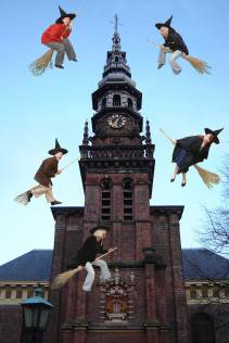 Heksen rond de Nieuwe Kerk