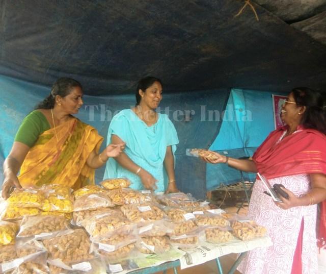 Members of Rosalie Kurien's Ojus Kudumbashree neighbourhood group are astute businesswomen who take a keen interest in the development of their Mattathur Gram Panchayat.