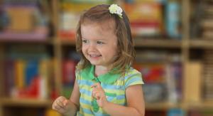 girl three years old