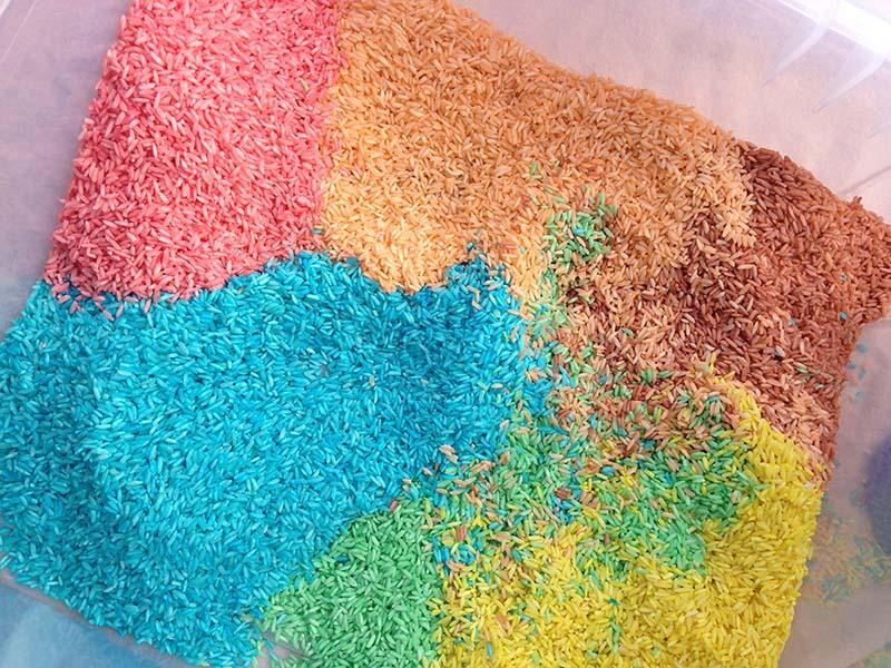 vika raskina - colored rice for game