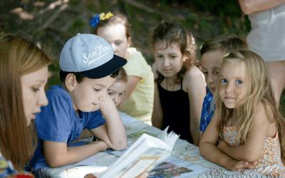 Книжные пикники и посиделки
