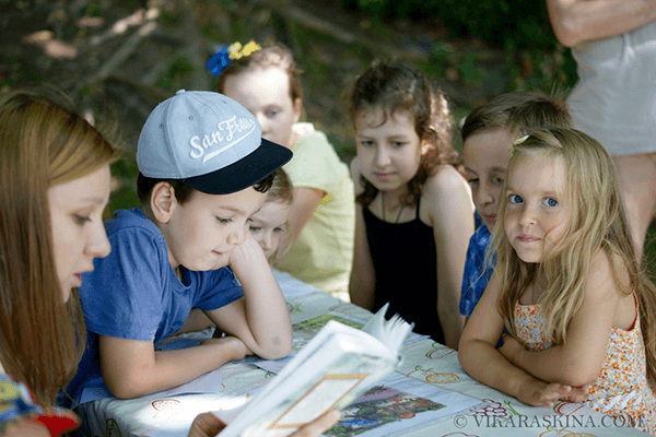vika raskina - kids reading