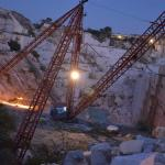 Vikas white marble mines in kankroli