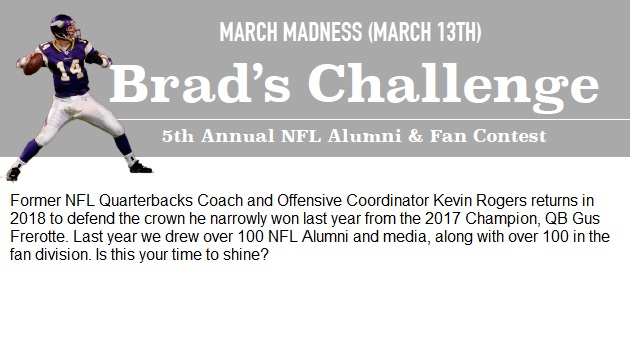 Brad Johnson's 2018 March Madness Bracket Challenge