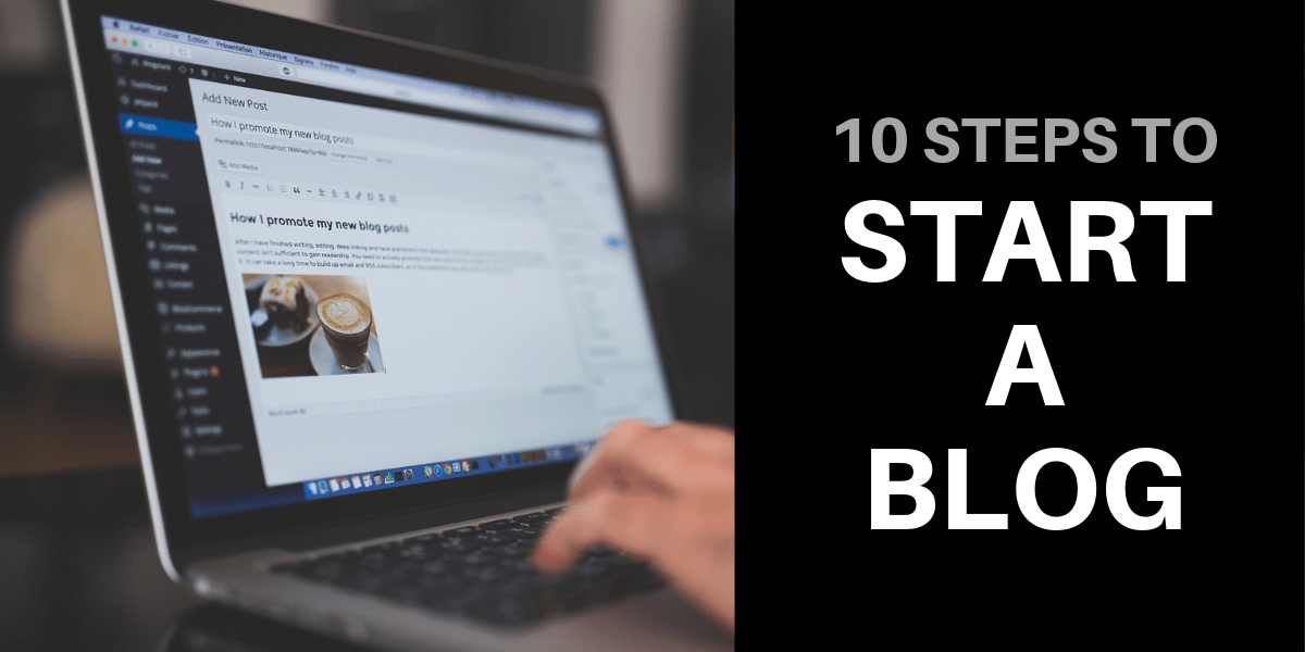 start a blog tutorial