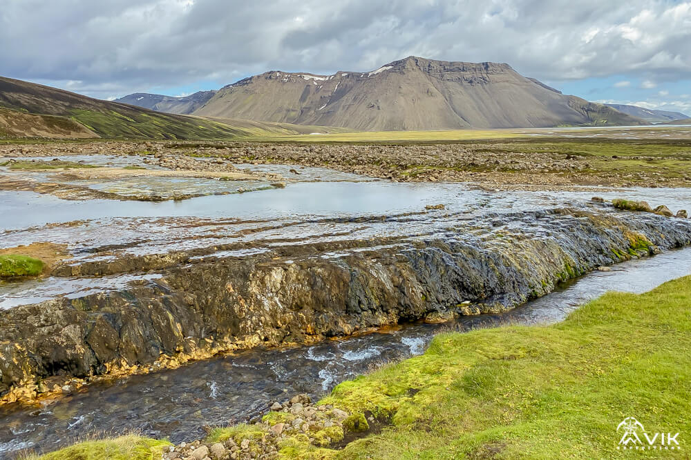 Strútslaug Hot Springs Iceland