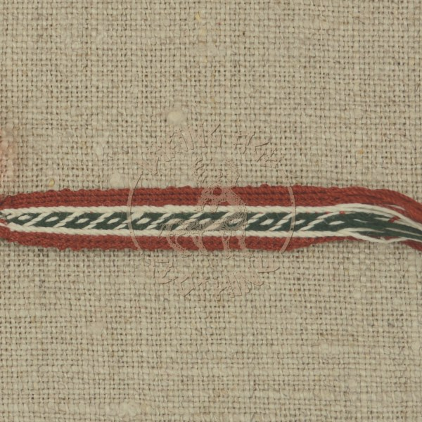 Oseberg band, green and red