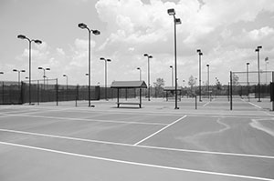 The Rome Tennis Center at Berry College