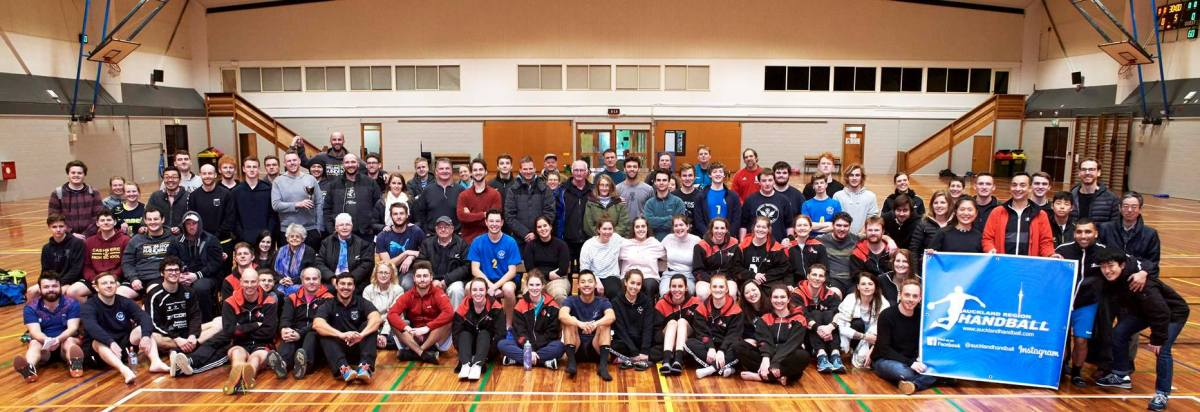 NZ Handball community at NZ Regional Champs 2019