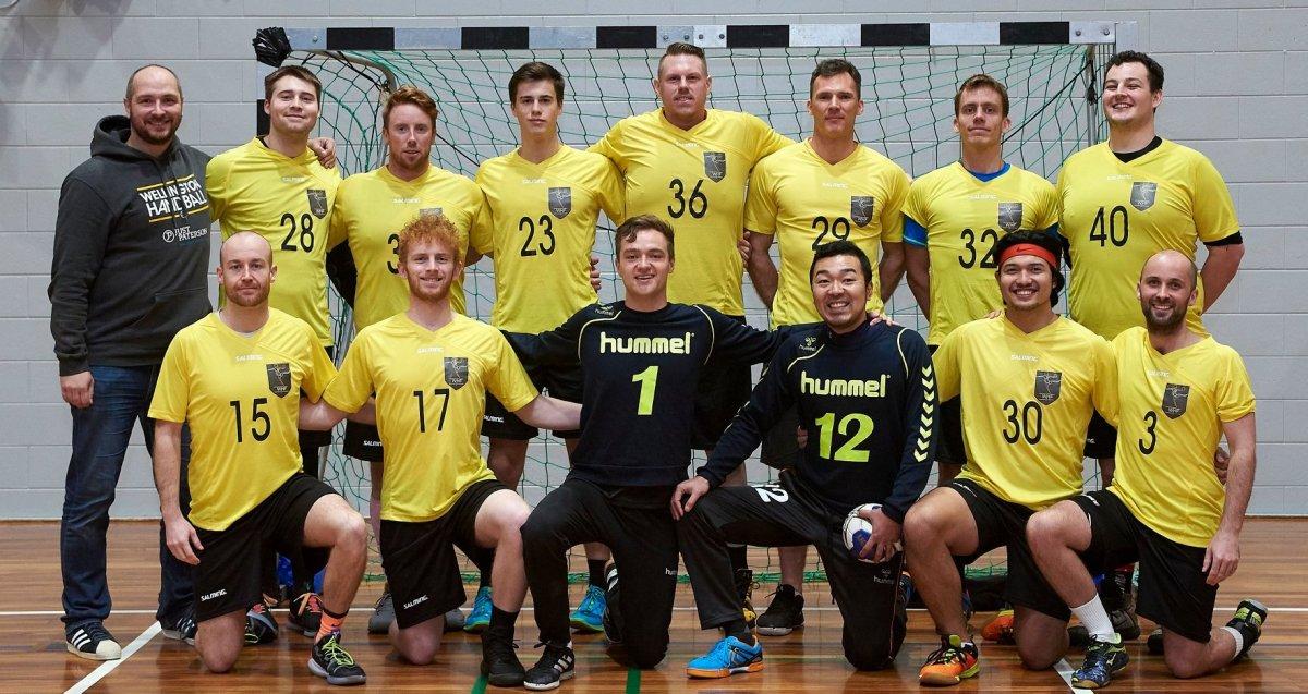 Team Wellington 2019 - men