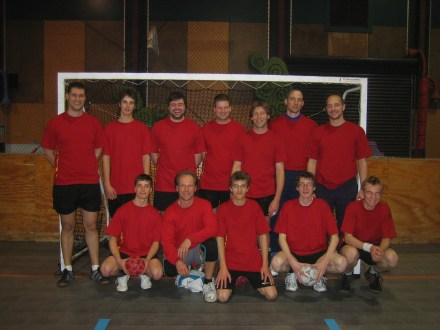 Inaugral Vikings team - 2007