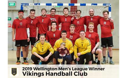2019 Wellington League Winners - Vikings Handball Club