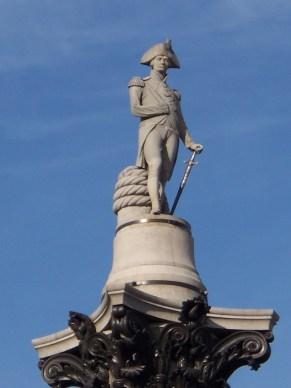 Nelson's Column, Trafalgar Square. Flickr (c) Alex France