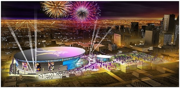 New Stadium Night View