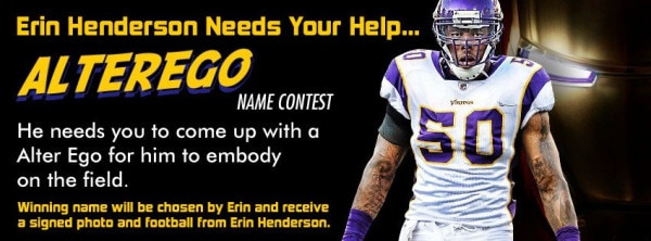 Erin Henderson Needs Your Help...