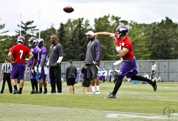 2013 Training Camp - Christian Ponder