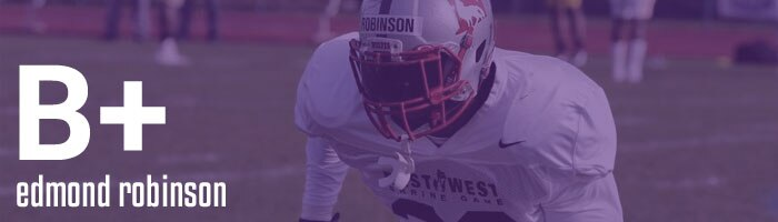 Draft Grades Edmond Robinson