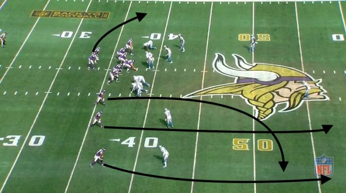 3rd and 8 at MIN 38 (13:25) (Shotgun) T.Bridgewater pass deep right to J.Wright to DET 45 for 17 yards.