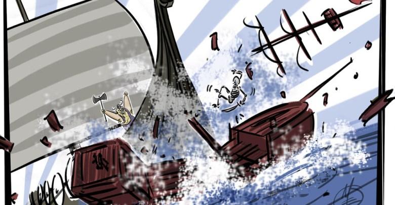 Matt Engstrom Vikings Illustrations Vikings Plunder Buccaneers