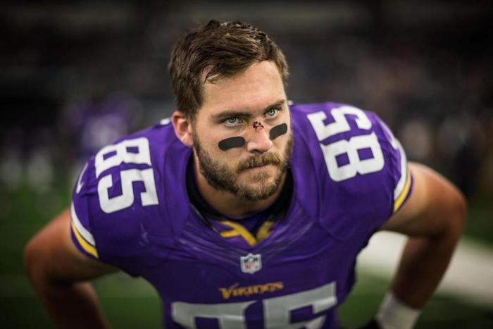 Minnesota Vikings tight end Rhett Ellison is a key contributor