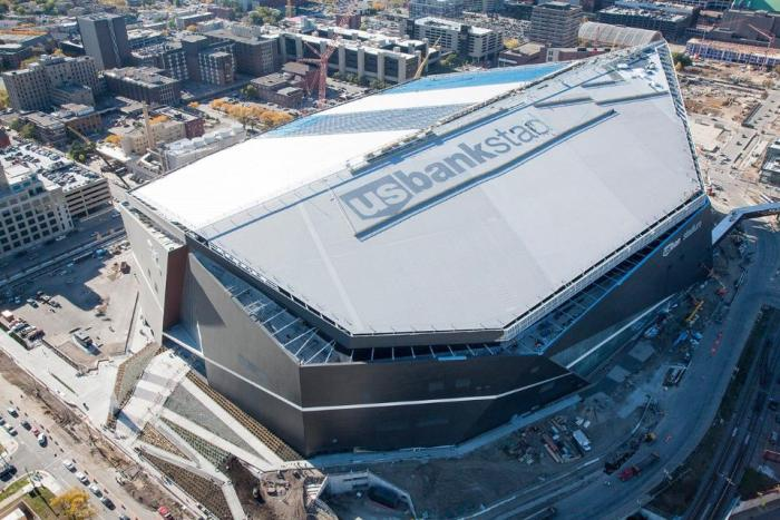 Vikings' first game at U.S. Bank Stadium