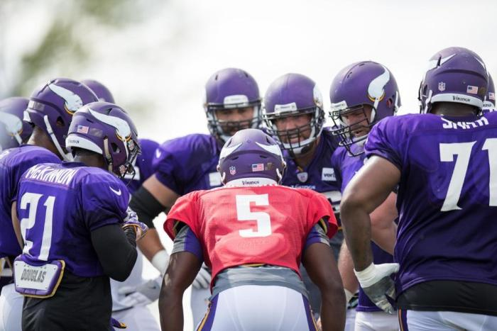 Top of the Vikings' Depth Chart