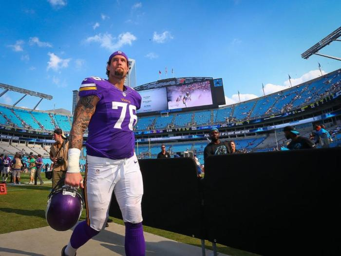Alex Boone Injured in Vikings Win