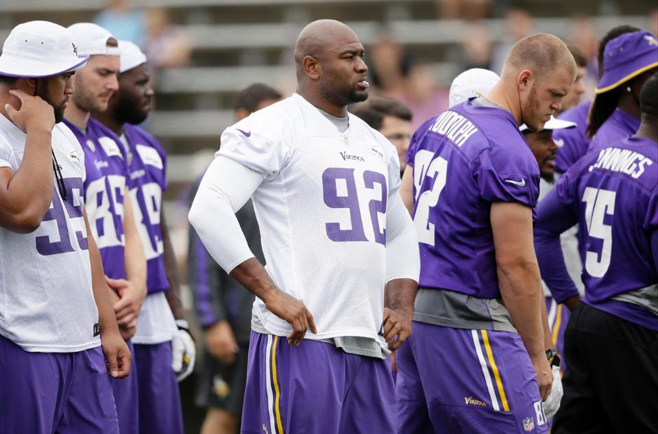 Adrian Peterson unsure if he'll play vs. Packers on Saturday