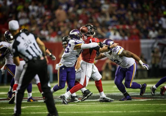 Falcons Offer Vikings a Lesson