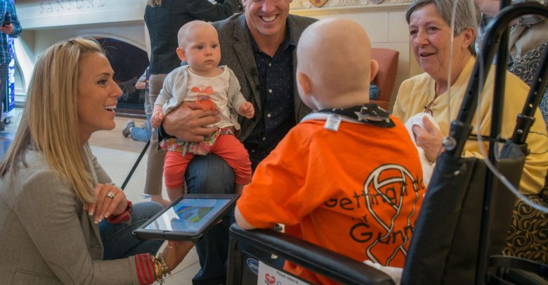 Chad Greenway Leads the Way for Cancer Research
