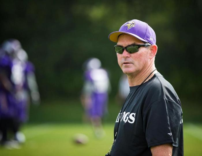 Mike Zimmer to Miss OTA Practices