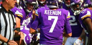 Case Keenum Was Effective Against the Buccaneers