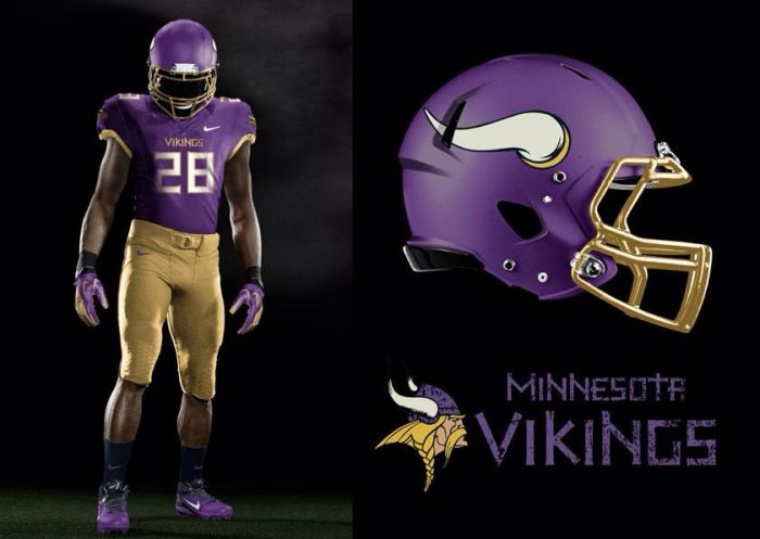 Is It Time For The Minnesota Vikings To Get New Uniforms Vikings Territory