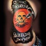 Angelic Upstarts tattoo