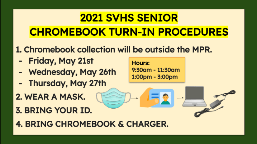 This image has an empty alt attribute; its file name is 2021-Senior-Chromebook-Turn-In-Info-BrightSign-1.png
