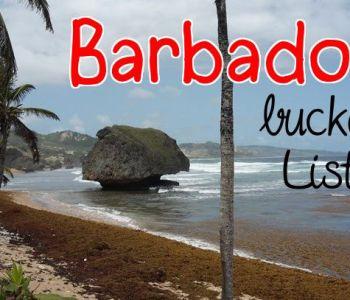barbados bathsheba bucket list top 5