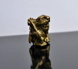 Фото бусины Неандерталец для паракорда