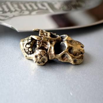 Фото застёжка для браслета череп викинга