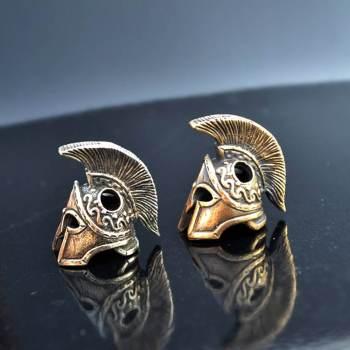 Фото бусины для браслетов шлем спартанца