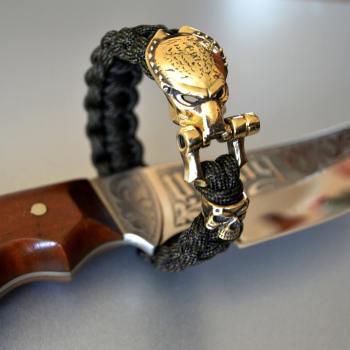 Фото браслет из паракорда с застежкой